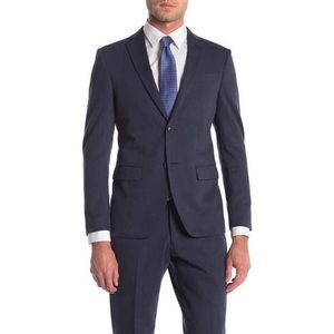 JOHN VARVATOS Bedford navy blazer jacket V13